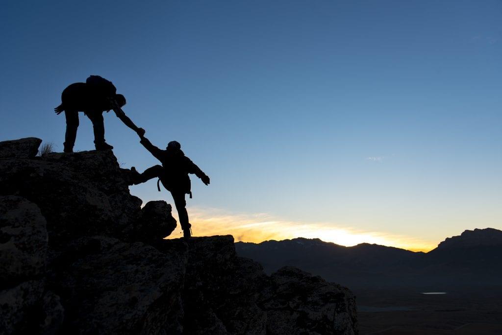 Servant Leadership Style helping
